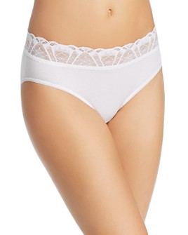 Hanky Panky - Cotton Lace French Briefs