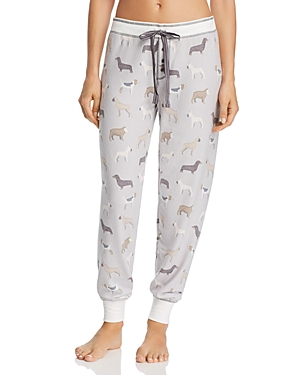 Pj Salvage DOG PRINT JERSEY JOGGER PJ PANTS