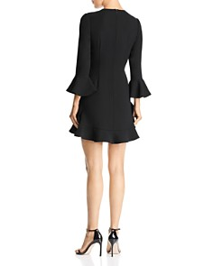 Jill Jill Stuart - Flounced Crepe Dress