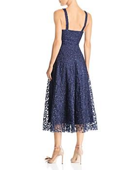 SAU LEE - Ambrose Embroidered Dress