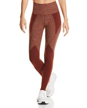 Beyond Yoga - Space-Dye Paneled Leggings