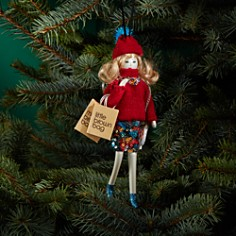 Bloomingdale's Shopper Girl Ornament - 100% Exclusive _0