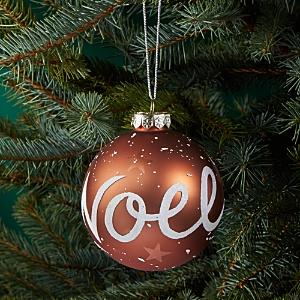 Bloomingdale's Noel Glitter Glass Ball Ornament - 100% Exclusive