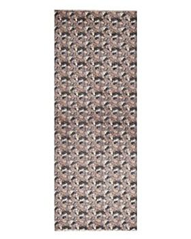 AQUA - Brushstroke Print Wool Scarf - 100% Exclusive