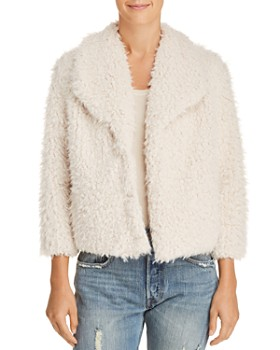 BB DAKOTA - Hugs Don't Lie Faux Fur Jacket