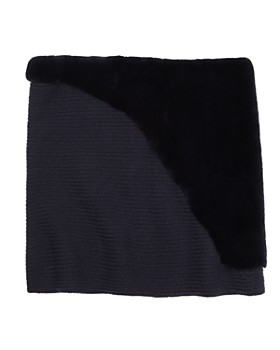 Lafayette 148 New York - Fur-Trimmed Tube Scarf - 100% Exclusive