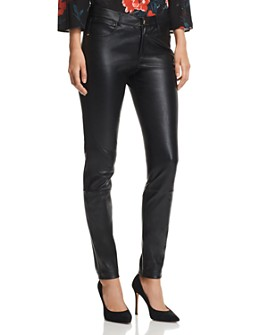 Lafayette 148 New York - Mercer Skinny Leather Pants