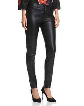 Lafayette 148 New York - Mercer Skinny Leather Pants