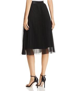 Kobi Halperin - Tess Pleated Tulle Skirt