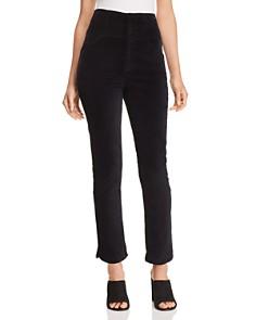 Rebecca Taylor - Velveteen Straight-Leg Pants