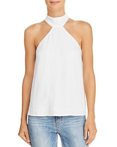 Lucy Paris - Cut-In Shoulder Top - 100% Exclusive