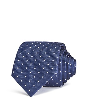 BOSS - Spaced-Dots Classic Silk Tie