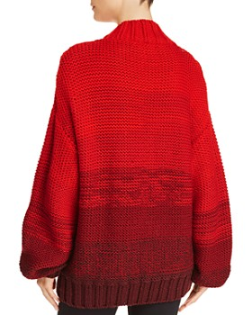 Elizabeth and James - Reve Dégradé Merino-Wool Sweater