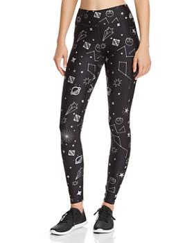 Terez - Galaxy-Print Leggings