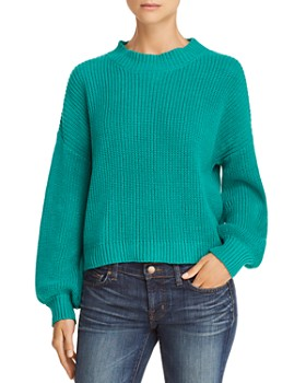 Honey Punch - Balloon-Sleeve Sweater