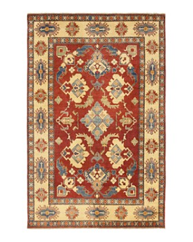 """Solo Rugs - Kazak Hand-Knotted Area Rug, 6'1"""" x 9'7"""""""