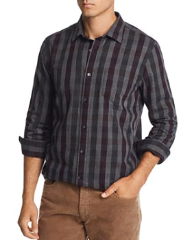 The Men's Store at Bloomingdale's - Brushed-Flannel Plaid Classic Fit Shirt - 100% Exclusive