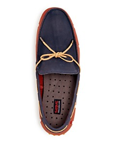 Swims - Men's Braided Lace Nubuck Leather & Rubber Drivers