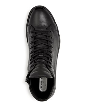 Kenneth Cole - Men's Brand Leather High Top Sneakers
