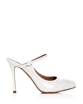 Tabitha Simmons - Women's Alyce Patent Leather High-Heel Mules
