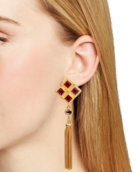 Ben Amun - Multi Color Clip Earrings