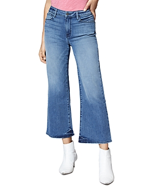 Sanctuary Non Conformist Wide-Leg Cropped Jeans in Chelsea Blue