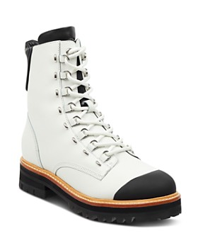 Sigerson Morrison - Women's Irene Round Toe Leather Boots