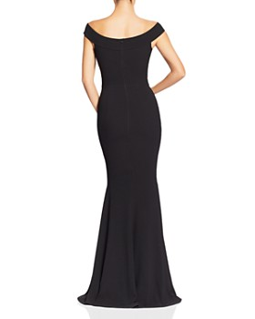 Dress the Population - Jackie Off-the-Shoulder Gown
