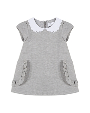 Tartine et Chocolat Girls' Ruffled Peter Pan Collar Dress - Baby