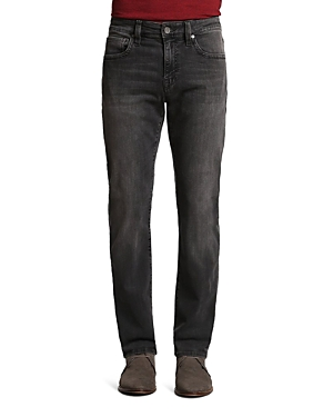 34 Heritage Courage Soft Comfort Straight Fit Jeans in Coal