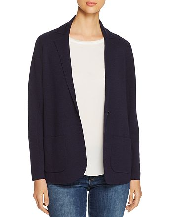 Eileen Fisher - Wool Knit Blazer
