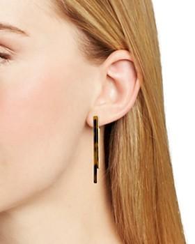Rebecca Minkoff - Geo Drop Earrings