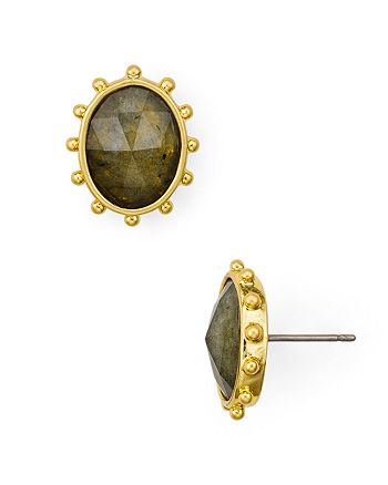 kate spade new york - Faceted Oval Stud Earrings