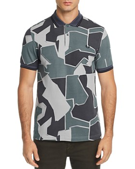 Fred Perry - Modern Camouflage-Print Pique Slim Fit Polo Shirt