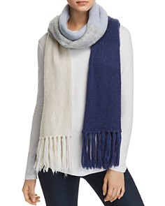 kate spade new york - Color-Block Blanket Scarf
