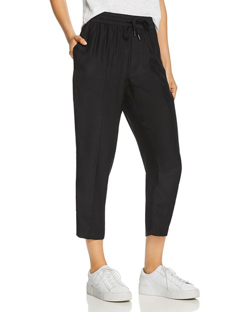ATM Anthony Thomas Melillo - Silk Cropped Pants