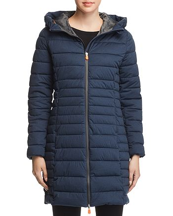 5d1606f88 Save The Duck Angy Long Puffer Coat - 100% Exclusive | Bloomingdale's