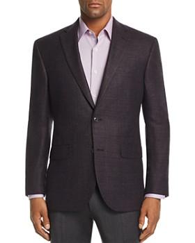 Jack Victor - Melange Hopsack Weave Regular Fit Sport Coat