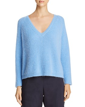 Weekend Max Mara - Pugnale Chunky Knit V-Neck Sweater - 100% Exclusive