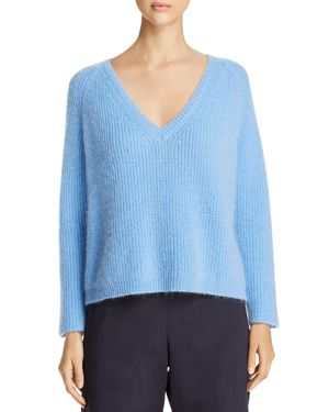 WEEKEND MAX MARA PUGNALE CHUNKY KNIT V-NECK SWEATER - 100% EXCLUSIVE