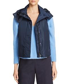 Weekend Max Mara - Erivan Water Resistant Hooded Vest - 100% Exclusive