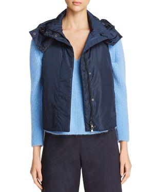 Weekend Max Mara Erivan Water Resistant Hooded Vest - 100% Exclusive