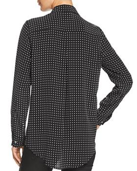 Equipment - Essential Dotted Silk Shirt