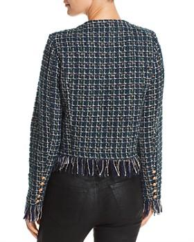 JOA - Fringed Tweed Jacket
