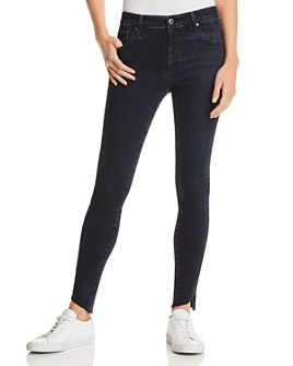 AG - Farrah Ankle Skinny Jeans in Yardbird - 100% Exclusive