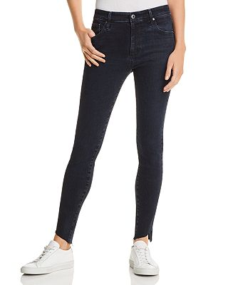 AG Farrah Ankle Skinny Jeans in Yardbird - 100% Exclusive