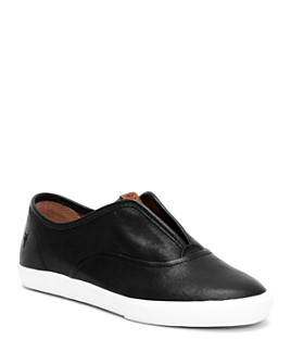 Frye - Women's Maya Leather Slip-On Sneakers