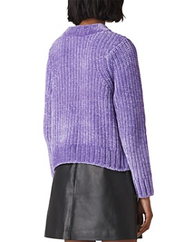 Whistles - Cropped Chenille Sweater