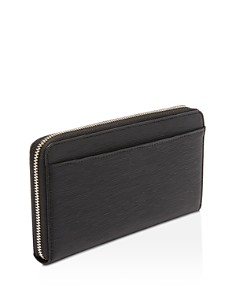 Ted Baker - Peony Zip-Around Textured Leather Matinee Wallet