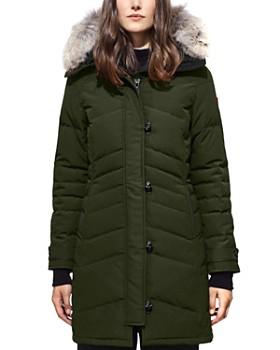 Canada Goose - Lorette Coyote Fur Trim Down Coat ...